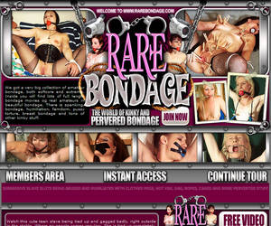 Welcome to Rare Bondage! Big collection of amateur bondage, both softcore and extreme. Inside you will find lots of full length bondage movies og real amateurs in beautiful bondage!